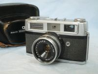 '  RANK MAMIYA ' Rank Mamiya Cased Rangefinder Camera £12.99